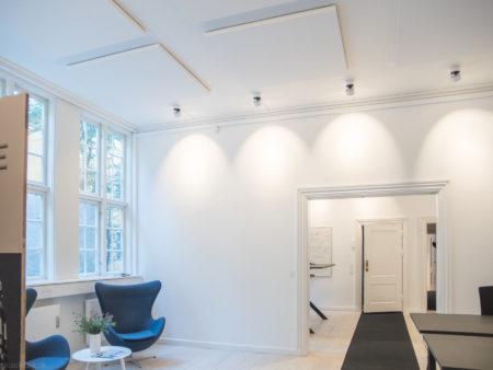 Ecophon Master Magnet i loft i kontor