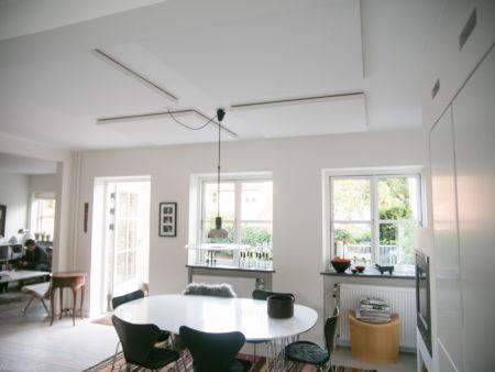 4 stk magnet akustikplader i villa